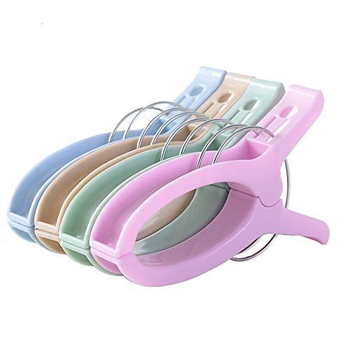 dichte Sun Quilt-Wäscheklammern Kunststoff-Trockenklammern Wäscheklammern Trockenklammern Trockenklammern Mehrfarbig Optional (Color : Khaki, Size : 10 Pieces) ()
