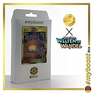 Riesige Feuerstelle (Chimenea Gigante) 263/236 Entrenadore Secreta - #myboost X Sonne & Mond 12 Welten im Wandel - Box de 10 cartas Pokémon Alemán
