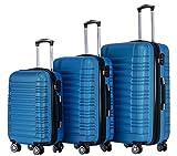 BEIBYE Zwillingsrollen Reisekoffer Koffer Trolleys Hartschale M-L-XL-Set