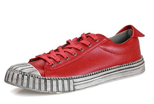 casuais sapatos colorir esporte boca retro homens skate primavera