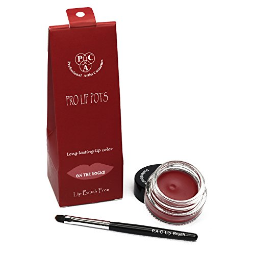 PAC Pro Lip Pots - On The Rocks + Free Brush Applicator