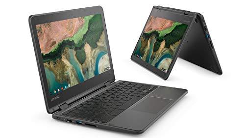 "Lenovo 300e Noir Chromebook 29,5 cm (11.6"") 1366 x 768 pixels Écran tactile MediaTek MT8173C 4 Go LPDDR3-SDRAM 32 Go eMMC"