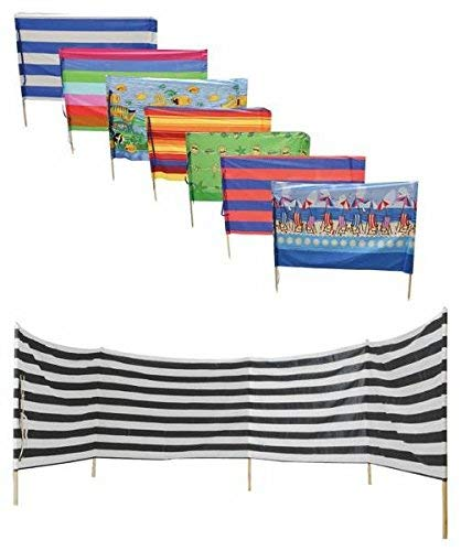 Beach Wind Screen farblich sortiert keine Auswahl möglich 5 x 0.80 m