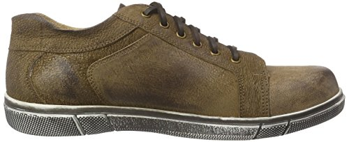 Trachtenrebell Chiemsee, Low-Top Sneaker homme brun (Wood)