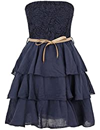 Apparel Outlet - Robe dentelle sans manche à volants - May - Femme