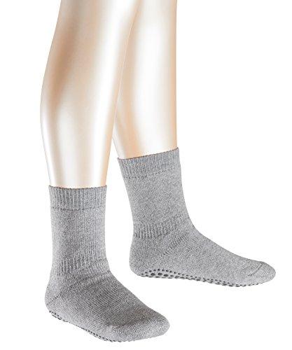FALKE Jungen Catspads Socken,, per pack Grau (light grey 3400), 23-26 (Herstellergröße: 23-26) (Pack Mädchen-socken)
