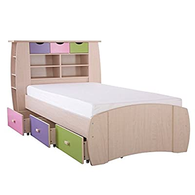 Children's Captain Bed (Pink, Lilac, Lime)
