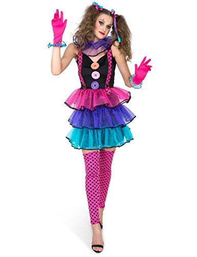 generique Costume Clown di carnevale Donna S