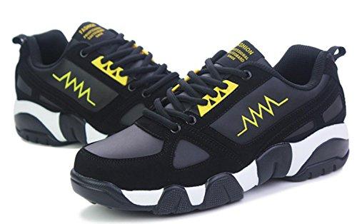 Sportschuhe Freien yellow Casual Basketball black im M盲nner Schuhe Running gwHfqvxYn