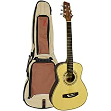 Stagg SV209 VIAGGIO - Guitarra acústica de caoba, color marrón