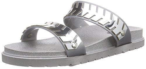 kamoa Psnova, Chaussures bateau femme Gris - Grau (gris)