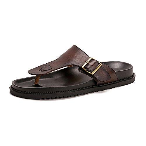Flip Flop Chancletas del resbalón de los Hombres del Muchacho de Las Sandalias Zapatos de la Piscina...