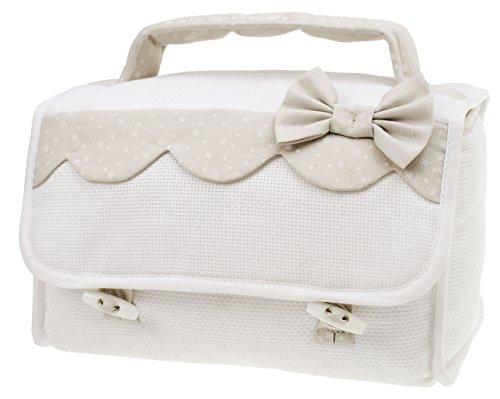 ddf7d8873b903 FILET - Beauty Case I Prodotto Italiano I Per Neonati Prima Infanzia I  Applicazioni Ricamate