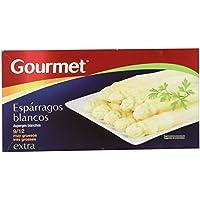 Gourmet - Espárragos blancos extra - 9/12 muy gruesos - 250 g -, Pack de 6
