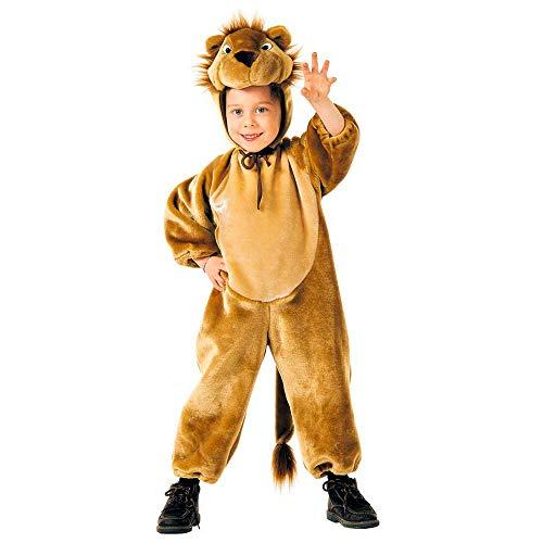 Costume vestito abito travestimento carnevale halloween cosplay bambino leone in peluche - 3642l
