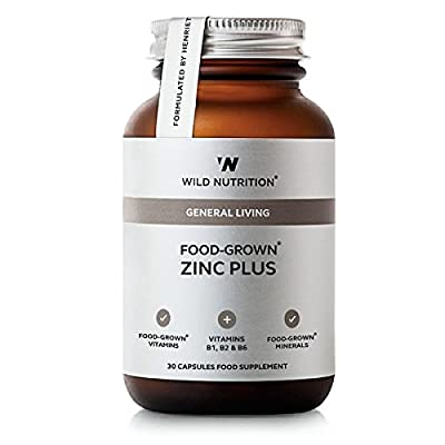 Wild Nutrition Food-Grown Zinc Plus Vegicaps 30 from Wild Nutrition