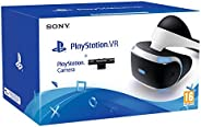 SONY - Playstation VR Bundle Starter Kit (Includes PSVR Headset & Camera) (UK & EURO Plug Included) /P