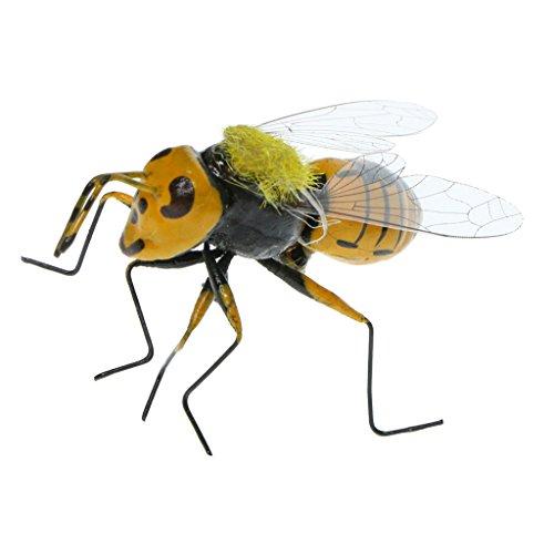 Sharplace Ornamento de Patio Frontones Decorativos Dosificadores de aliño Especias Forma de Insectos - abeja