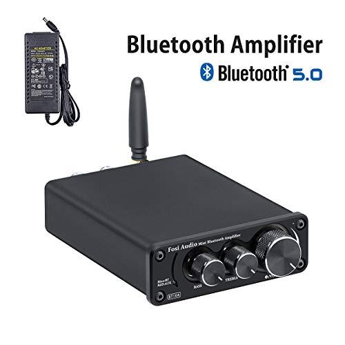 Bluetooth 5.0 Amplificador audio estéreo Receptor