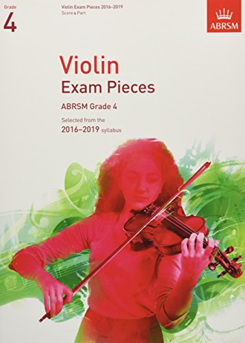 Violin Exam Pieces 2016-2019, ABRSM Grade 4, Score & Part Cover Image