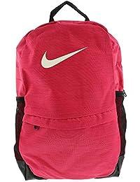 Nike Kids Brasilia Backpack, Color Rush Pink/Black/White, Talla MISC