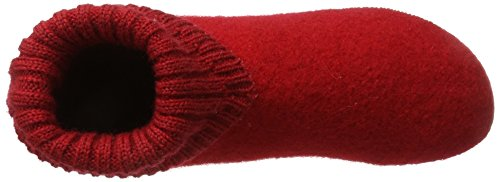 Giesswein Ladies Wildpoldsried High Slippers Red (fuoco)
