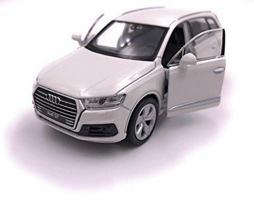 Coche Welly Audi Q7 modelo coche miniatura licencia producto 1: 34-1: 39 blanco