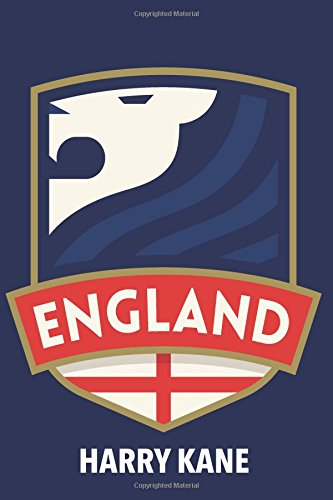 Harry Kane: England Notebook for soccer or English football fans (Souvenir Medium Design with Blank Pages) por Freedom Journals