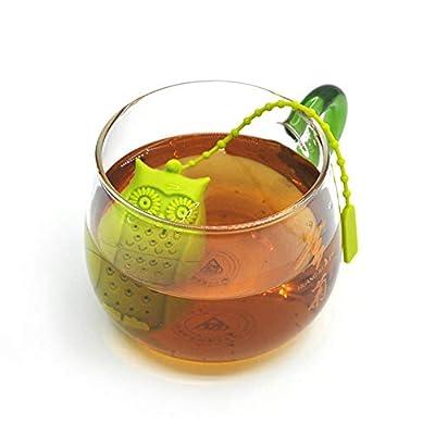 HAHAJY Silicone Infuseur de thé Infuseur de thé Sachet de thé Feuille À Base de Plantes épice Filtre Diffuseur Outil de thé Accessoires de thé