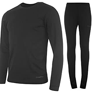 Campri Sports Base Layer Junior Thermal Top & Pant Set Unisex 14