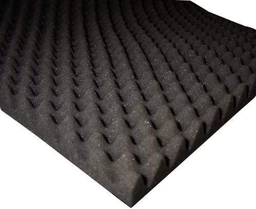 ETT Noppenschaumstoff für Boxen / Akustikschaumstoff 100 x 50 x 3cm
