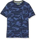 Sanetta Jungen T-Shirt Allover Schlafanzugoberteil, Blau (Classic Blue 5968),...