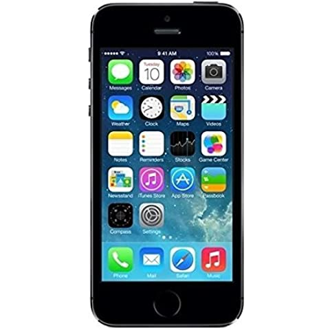 Apple iPhone 5S Gris Espacial 64GB Smartphone Libre (Reacondicionado Certificado)