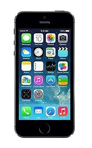 Apple iPhone 5S Gris Sidéral 16Go Smartphone Débloqué (Reconditionné