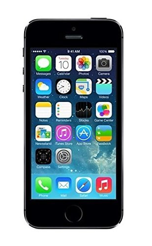 Apple iPhone 5S Gris Espacial 16GB Smartphone Libre (Reacondicionado Certificado)