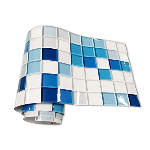 Queenhairs 20x240cm Badezimmer Fliesen Abziehbilder Wasserdichte Wandaufkleber PVC Selbstklebende Anti Öl DIY Tapeten Wohnkultur -