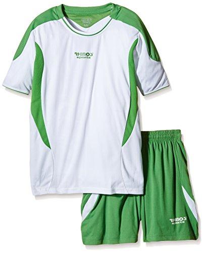 RHINOS sports Trikot-Set Olympic weiß/grün 140