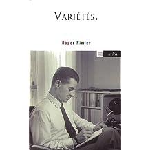 Variétés. L'air du temps (1945-1962)
