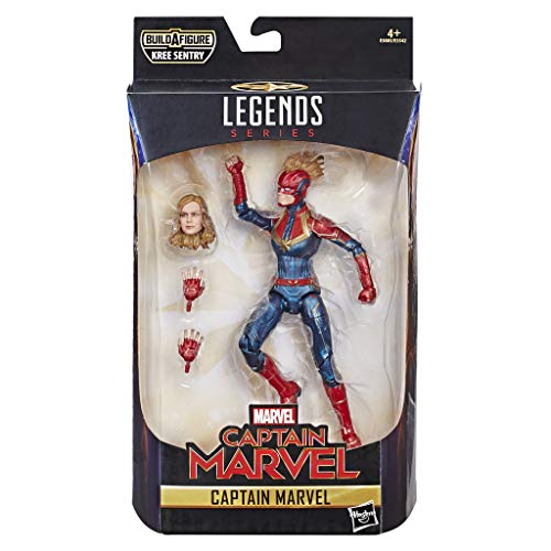 Marvel Captain Marvel Legends in Kostüm, 15,2 - Marvel Universum Kostüm