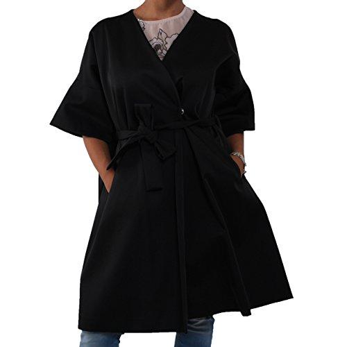 Imperial Damen Mantel Schwarz schwarz Small