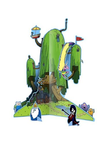 Adventure Time Mittelpunkt Tisch Dekoration