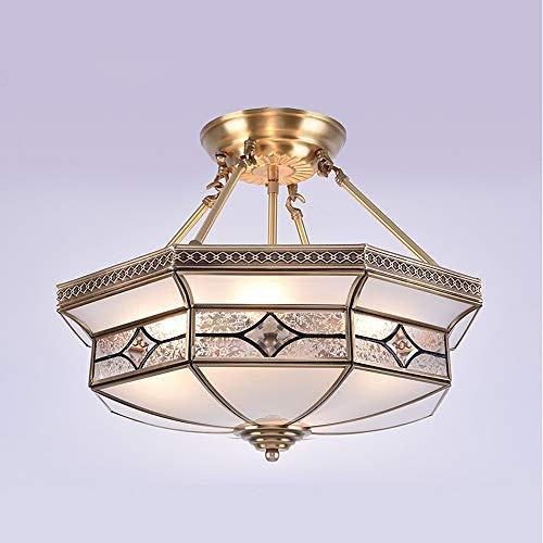 SBB Pendelleuchten 4-Licht Unterputz Raumbeleuchtung Öl-riebe Bronze Metall Glas Ministil 110-120V / 220-240V Glühbirne nicht inklusive / E26 / E27:220-240V - Glas 4 Licht Unterputz