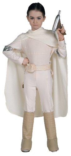 Star Wars Deluxe Kinder Kostüm Padmé Amidala Größe 8 bis 10 (Star Wars Overall Amidala Kostüme)