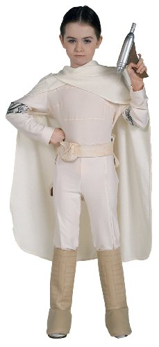 Star Wars Deluxe Kinder Kostüm Padmé Amidala Größe 8 bis 10 (Kostüm Padme Kind)