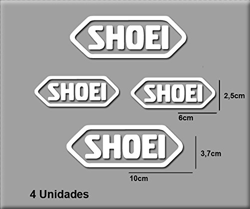 pegatinas-stickers-shoei-r95-aufkleber-decals-autocollants-adesivi-blanco-white