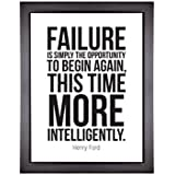 Next Bazaar Motivational Posters For Room And Home Décor - Failure Is Simply The Oppurtunity To Begin Again, This Time More Intelligently By Henry Ford