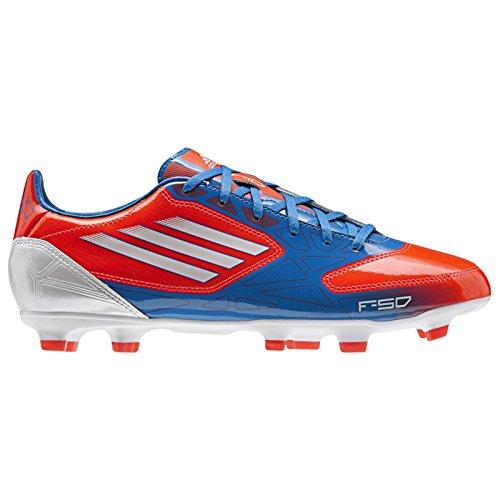 adidas Performance F10 TRX FG J G65352 Jungen Fußballschuhe Blau/Weiß/Orange