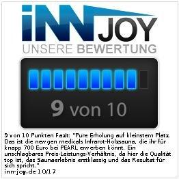 Newgen Medicals Kompakt Infrarot-Sitzsauna - 7