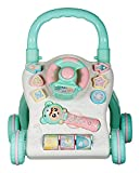 Smartcraft Baby Walker , New Learning Musical Walker for Kids, Sit-to-Stand Activity Push