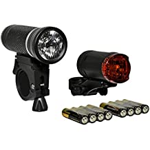 USB Fahrradlampe LED Fahrrad Licht Fahrradbeleuchtung Lamp Scheinwerfer Stvzo EU
